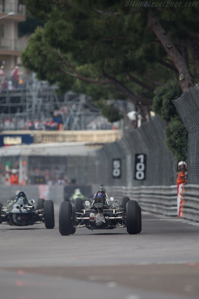 Brabham BT11 Climax - Chassis: F1-1-64 - Driver: Roy Walzer  - 2014 Monaco Historic Grand Prix