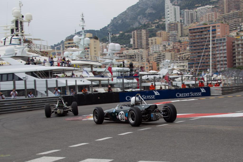 Brabham BT14 Climax - Chassis: F1-6-65 - Driver: Rodger Newman  - 2014 Monaco Historic Grand Prix