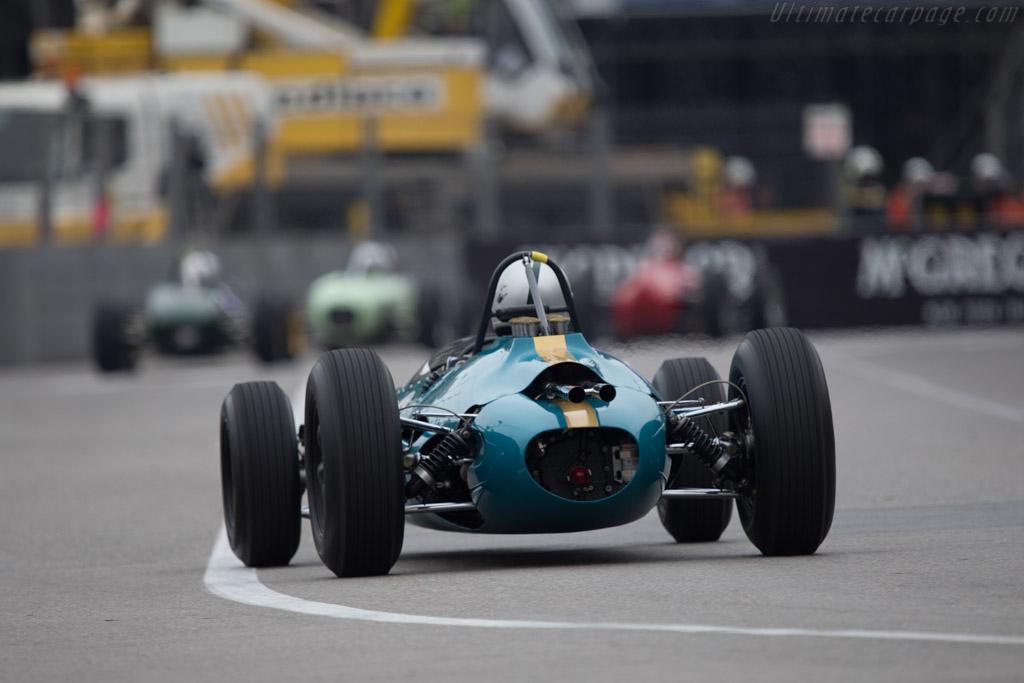 Brabham BT3 Climax - Chassis: F1-1-62 - Driver: Marco Rollinger  - 2014 Monaco Historic Grand Prix