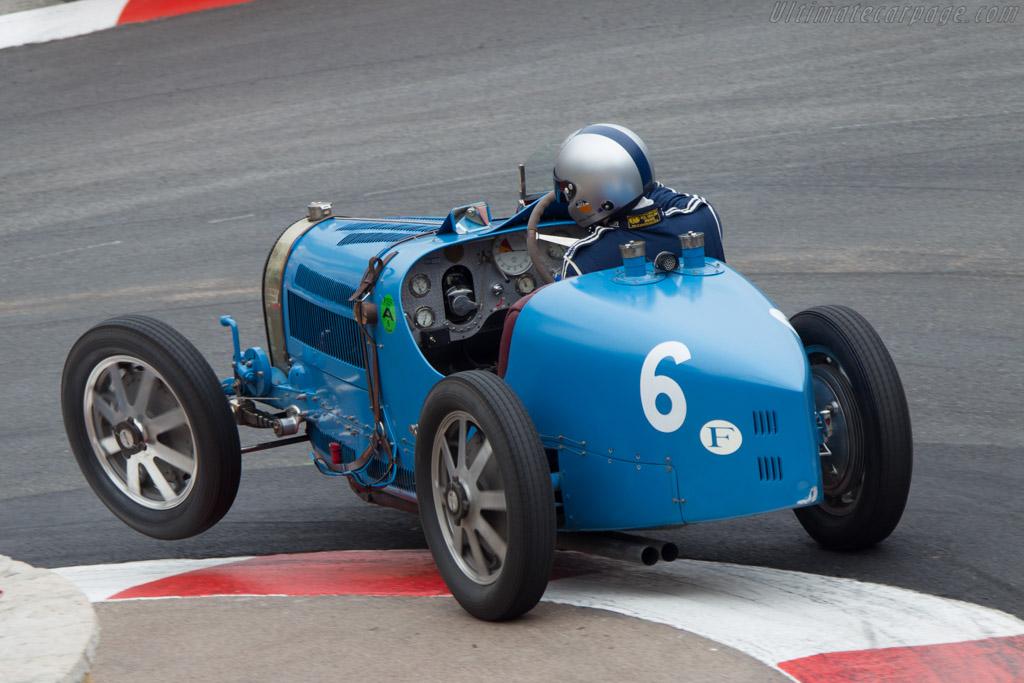 Bugatti Type 35 51 Chassis 4847 Driver Andrew Cannon