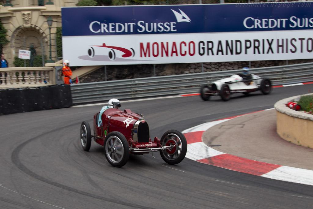 Bugatti Type 35 - Chassis: 4809 - Driver: Robert Newall  - 2014 Monaco Historic Grand Prix