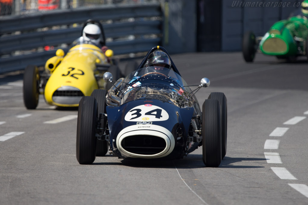 Connaught B-Type - Chassis: 4 - Driver: Helmut Gassmann  - 2014 Monaco Historic Grand Prix