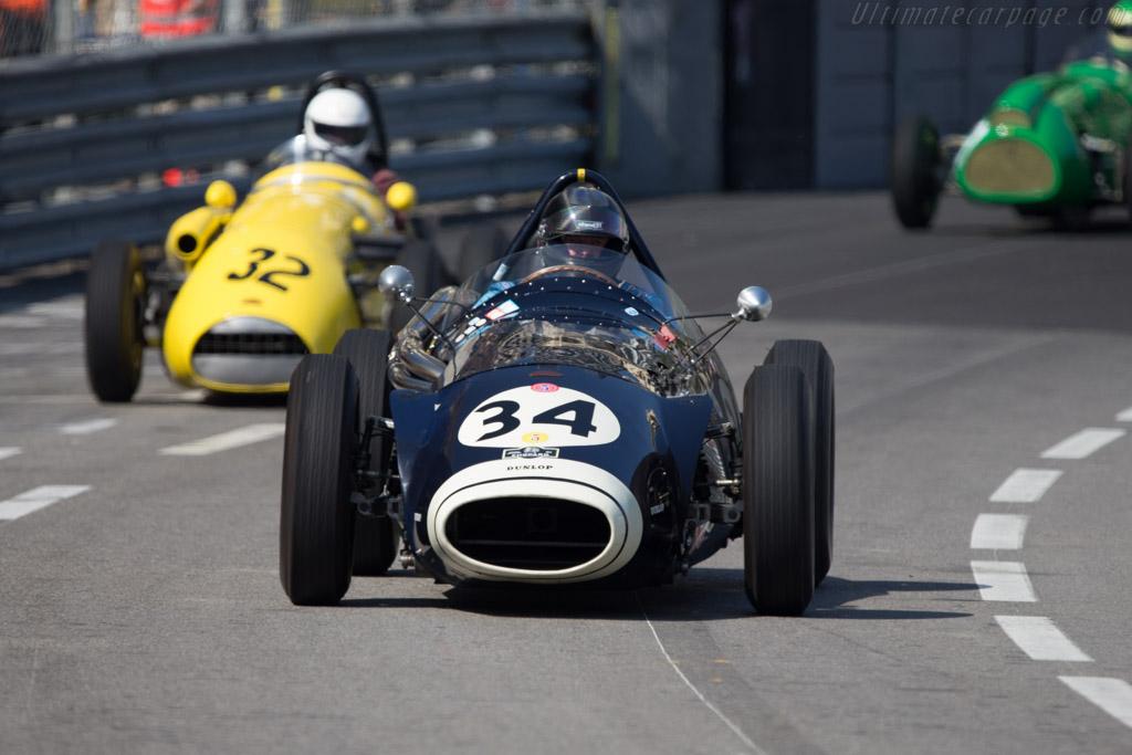 Connaught B-Type - Chassis: B4 - Driver: Helmut Gassmann  - 2014 Monaco Historic Grand Prix