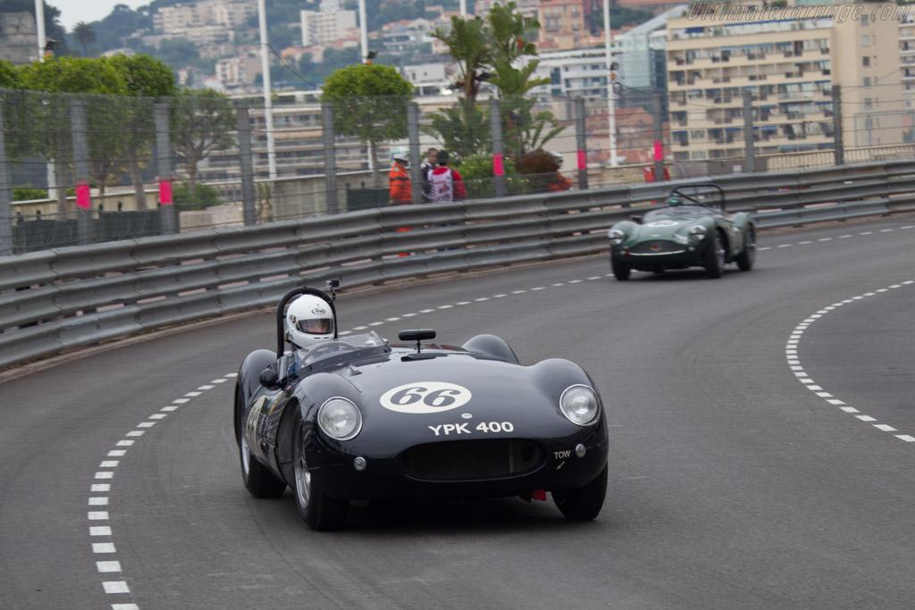 Cooper T38 Jaguar - Chassis: CJ-3-55 - Driver: Frederic Wakeman  - 2014 Monaco Historic Grand Prix