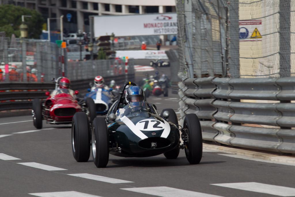 Cooper T51 Climax - Chassis: F2-23-59 - Driver: Roger Wills  - 2014 Monaco Historic Grand Prix