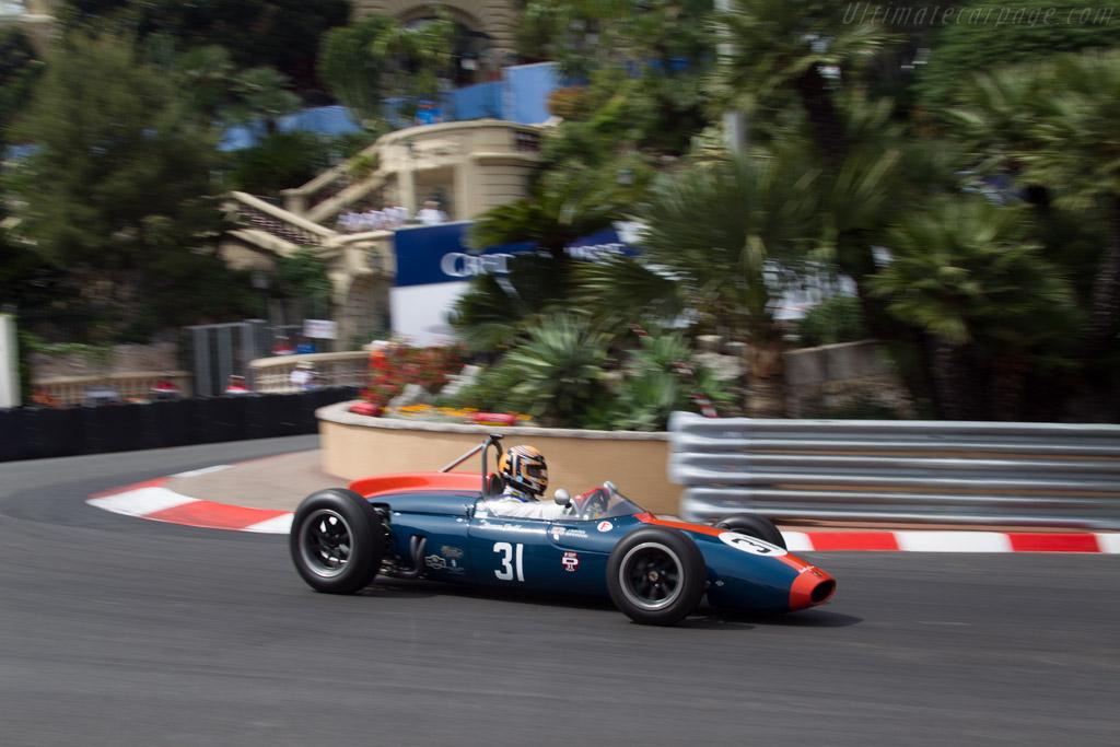 Cooper T56 Climax - Chassis: YC-F1-62 - Driver: John Evans  - 2014 Monaco Historic Grand Prix