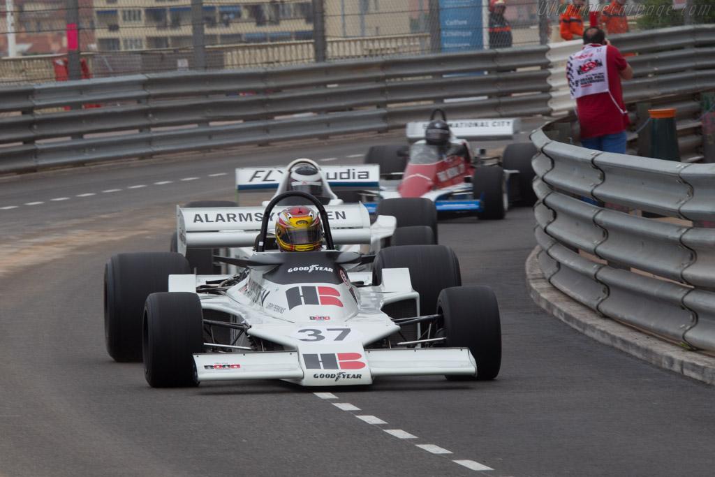 Ensign N175 Cosworth - Chassis: MN04 - Driver: David Ferrer  - 2014 Monaco Historic Grand Prix