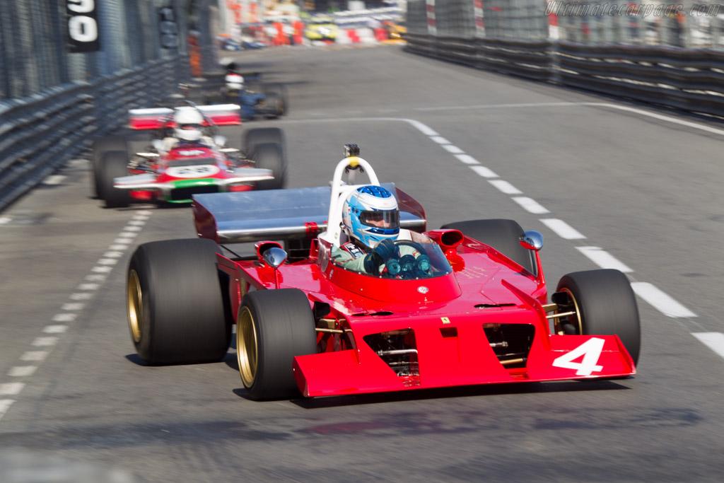Ferrari 312 B3 'Spazzaneve' - Chassis: 009 - Driver: Franco Meiners  - 2014 Monaco Historic Grand Prix