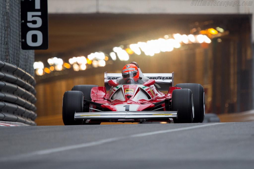 Ferrari 312 T2 - Chassis: 026 - Driver: Chris MacAllister  - 2014 Monaco Historic Grand Prix