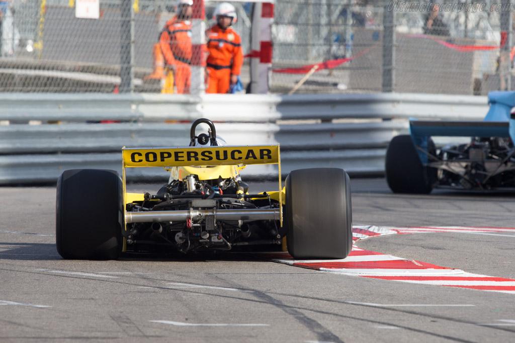 Fittipaldi F5A Cosworth - Chassis: F5A-3 - Driver: Alain Plasch  - 2014 Monaco Historic Grand Prix