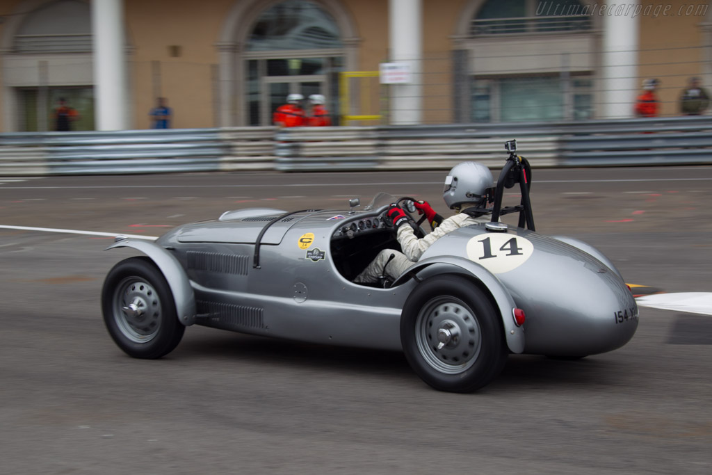 Frazer Nash High Speed - Chassis: 421/100/004 - Driver: Ned Spieker  - 2014 Monaco Historic Grand Prix