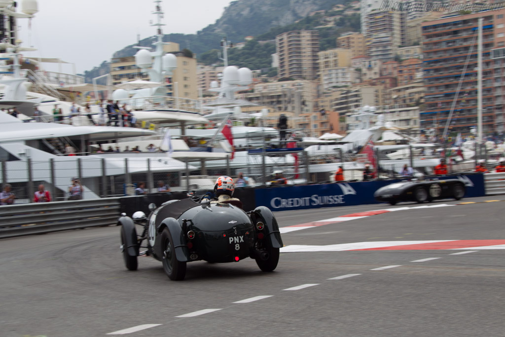 Frazer Nash Le Mans Replica - Chassis: 421/100/128 - Driver: James Wood  - 2014 Monaco Historic Grand Prix