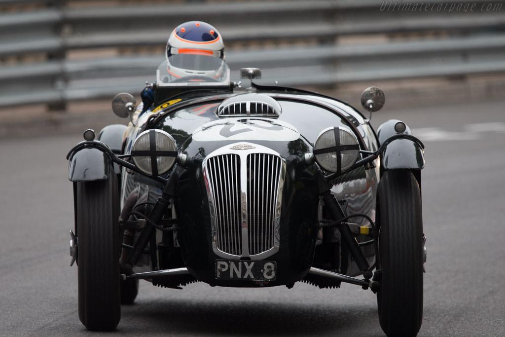 Frazer Nash Le Mans Replica - Chassis: 421/100/128 - Driver: James Wood  - 2014 Monaco Historic Grand Prix