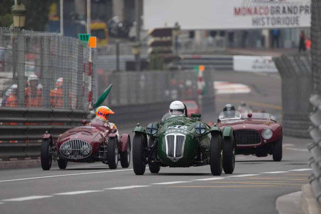 Frazer Nash Le Mans Replica Mk2 - Chassis: 421/200/181 - Driver: Martin Hunt  - 2014 Monaco Historic Grand Prix