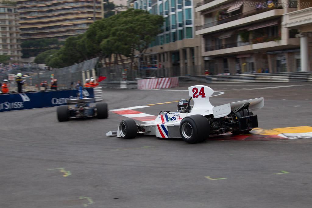 Hesketh 308 Cosworth - Chassis: 308/2 - Driver: Frederic Fatien  - 2014 Monaco Historic Grand Prix