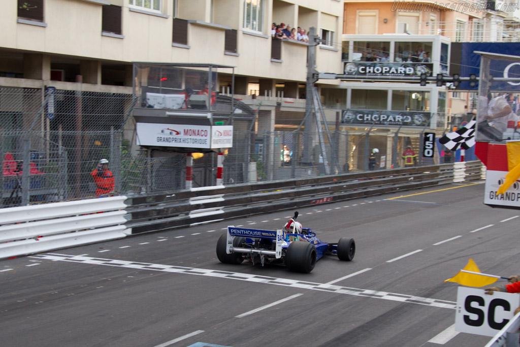 Hesketh 308E Cosworth - Chassis: 308E / 1 - Driver: Michael Lyons  - 2014 Monaco Historic Grand Prix