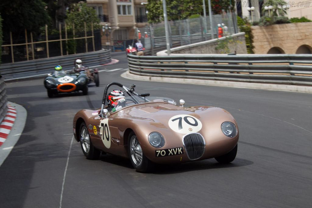 Jaguar C-Type - Chassis: XKC 018 - Driver: Chris Buncombe  - 2014 Monaco Historic Grand Prix