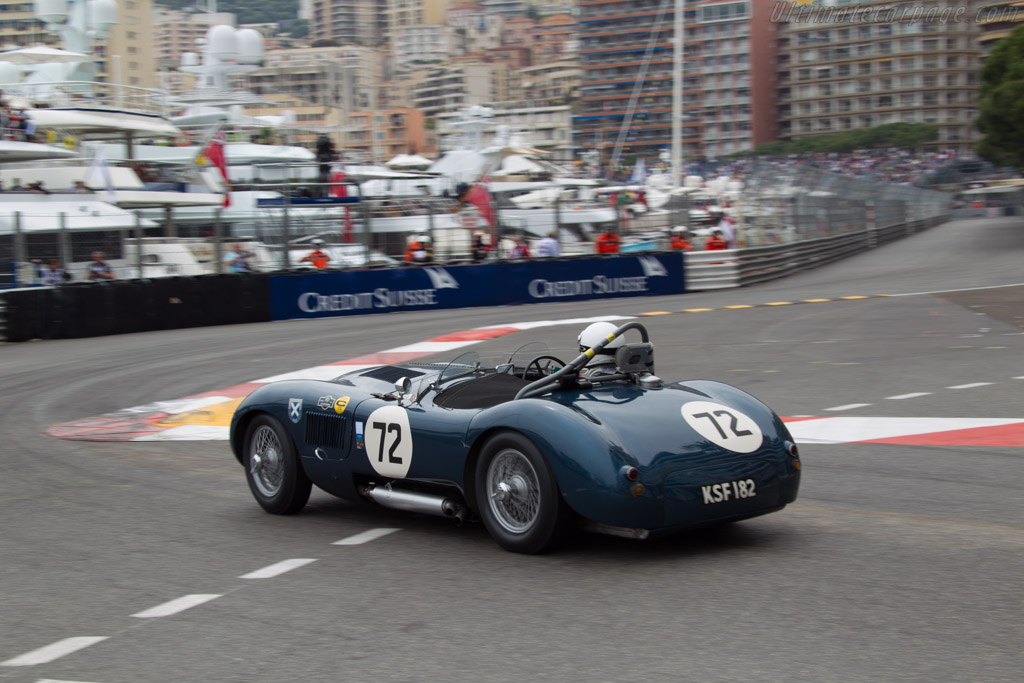 Jaguar C-Type - Chassis: XKC 006 - Driver: Alain de Cadenet  - 2014 Monaco Historic Grand Prix
