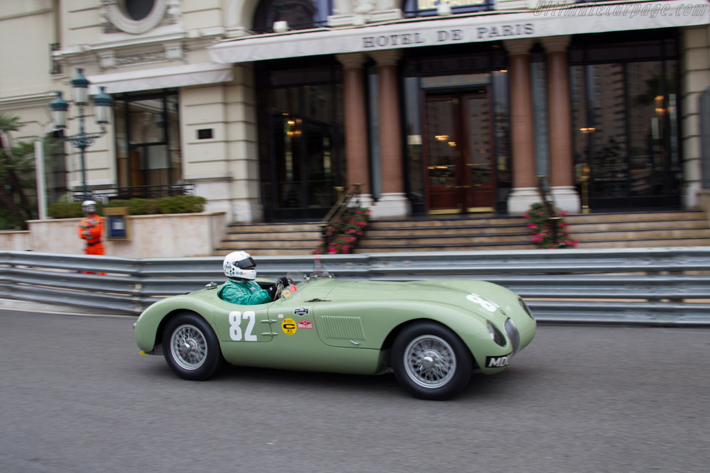 Jaguar C-Type - Chassis: XKC 005 - Driver: Andrew Frankel  - 2014 Monaco Historic Grand Prix