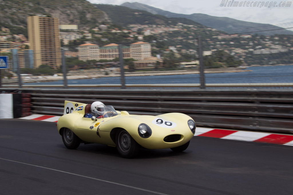 Jaguar D-Type - Chassis: XKD 552 - Driver: Diego Ribadeneira  - 2014 Monaco Historic Grand Prix