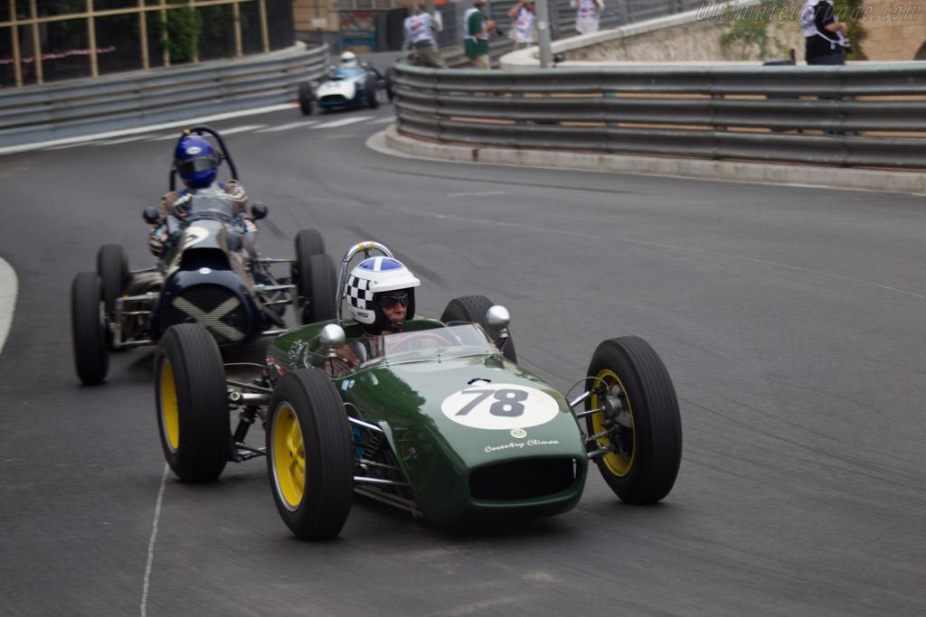 Lotus 18 Climax  - Driver: John Chisholm  - 2014 Monaco Historic Grand Prix
