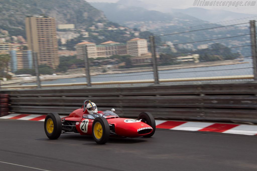 Lotus 21 Climax - Chassis: 938 - Driver: Franck Trouillard  - 2014 Monaco Historic Grand Prix