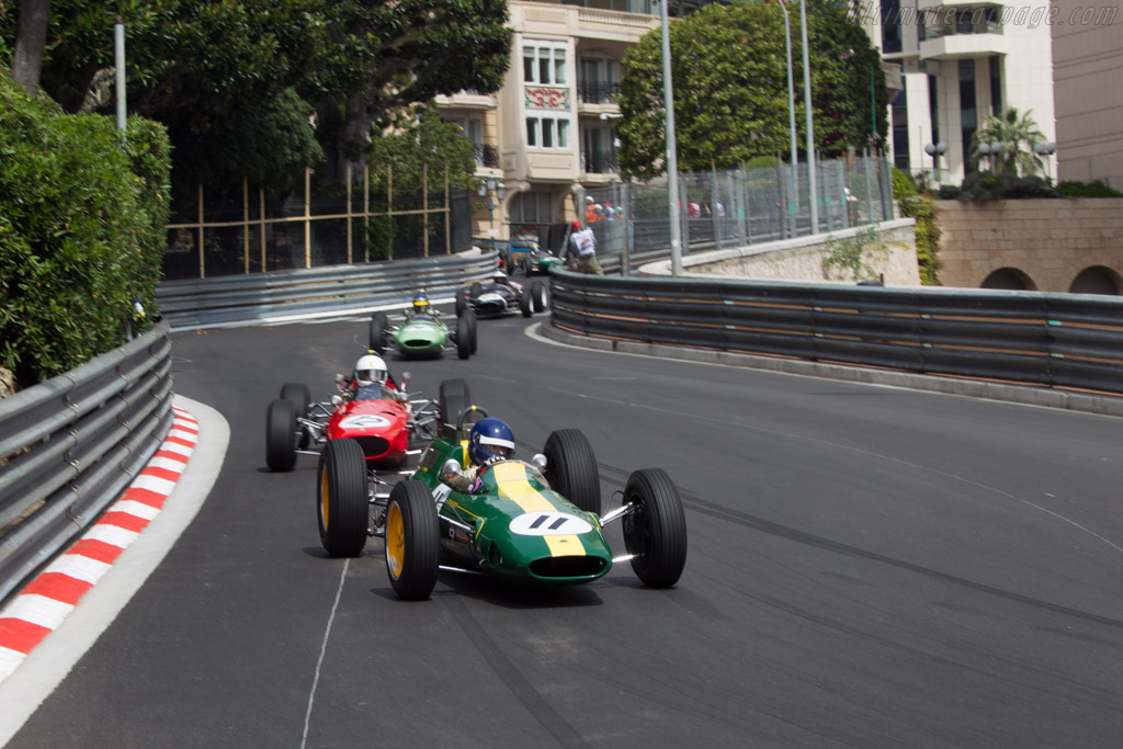 Lotus 25 Climax - Chassis: R3 - Driver: Andy Middlehurst  - 2014 Monaco Historic Grand Prix