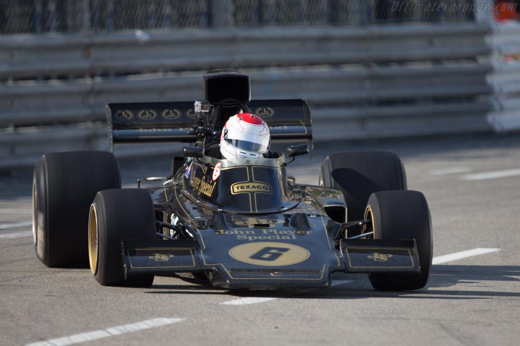Lotus 72 Cosworth - Chassis: R6 - Driver: Katsu Kubota  - 2014 Monaco Historic Grand Prix
