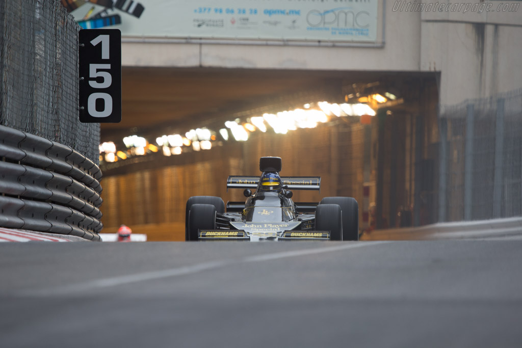 Lotus 76 Cosworth - Chassis: JPS9 - Driver: Andrew Beaumont  - 2014 Monaco Historic Grand Prix