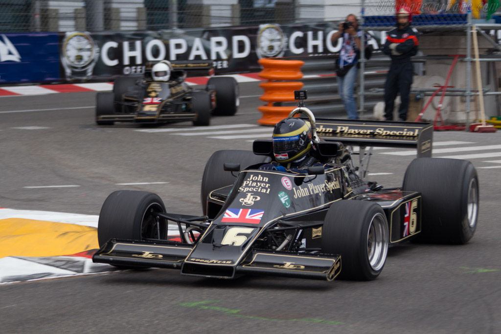 Lotus 77 Cosworth - Chassis: JPS12 - Driver: Max Smith-Hilliard  - 2014 Monaco Historic Grand Prix
