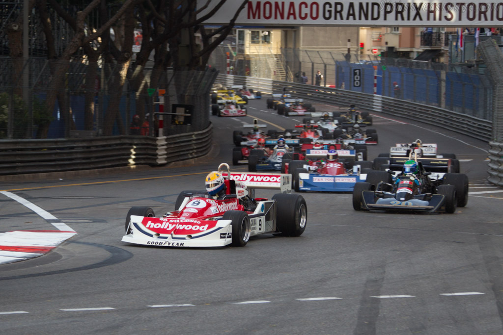 March 761B Cosworth - Chassis: 761B-3 - Driver: Charlie Nearburg  - 2014 Monaco Historic Grand Prix