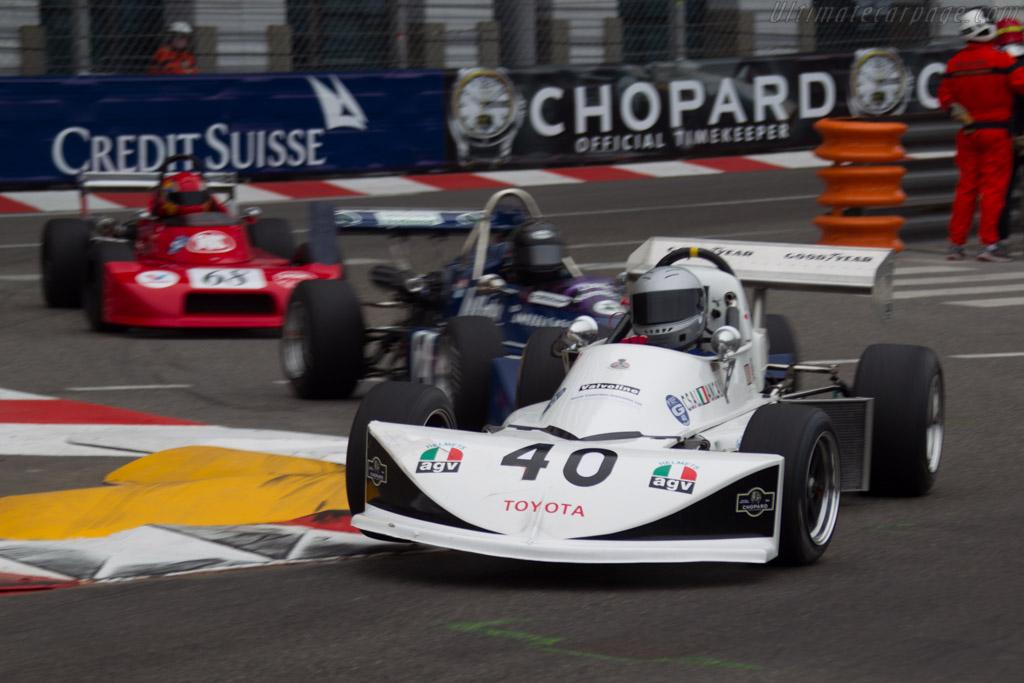 March 763 Toyota  - Driver: Marcus Mussa  - 2014 Monaco Historic Grand Prix
