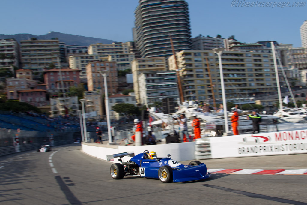 March 763 Toyota - Chassis: 763-7 - Driver: Stefano Garzi  - 2014 Monaco Historic Grand Prix