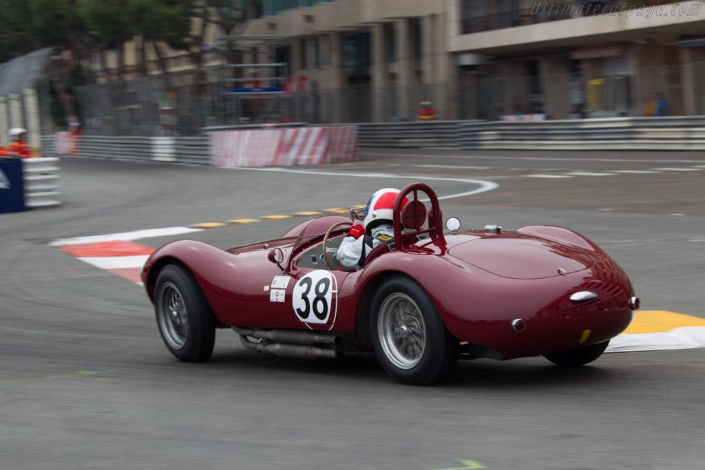 Maserati A6 GCS/53 - Chassis: 2084 - Driver: Jean-Jacques Bally  - 2014 Monaco Historic Grand Prix