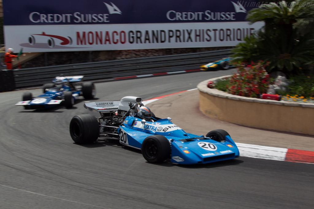 Matra MS120B - Chassis: MS120B/6 - Driver: Rob Hall  - 2014 Monaco Historic Grand Prix