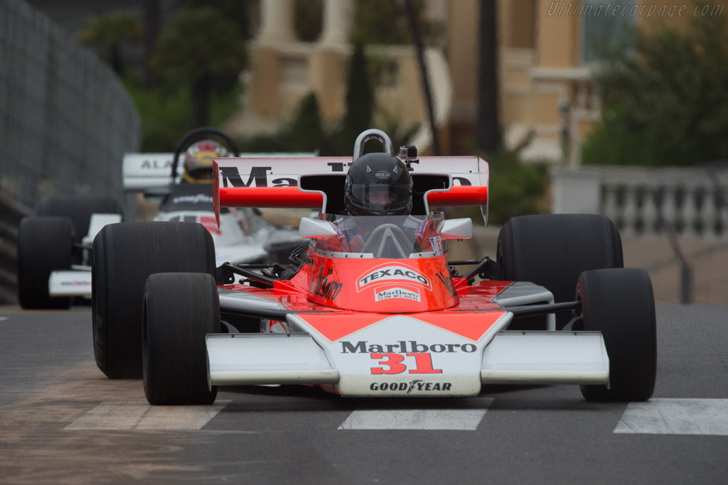 McLaren M23 Cosworth - Chassis: M23-12 - Driver: Richard Griot  - 2014 Monaco Historic Grand Prix