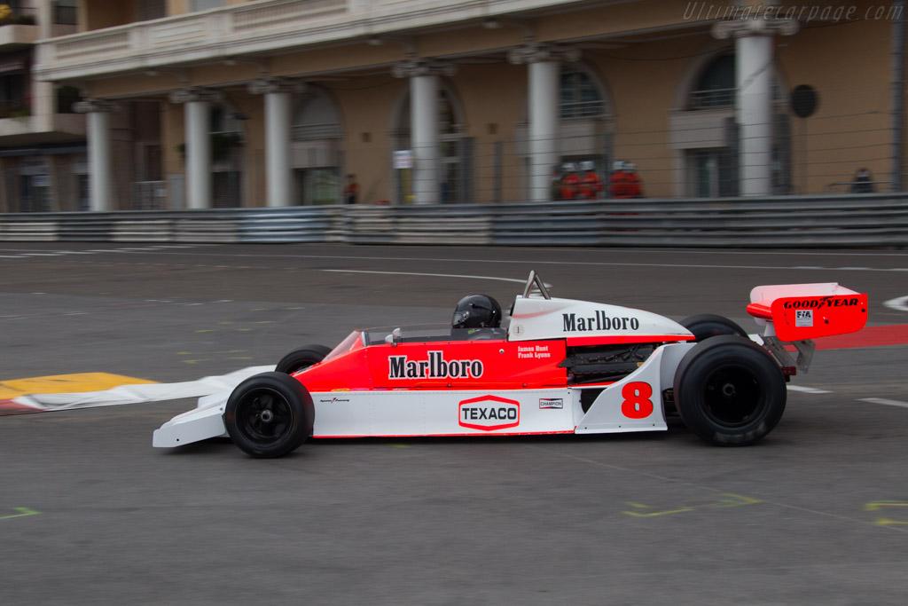 McLaren M26 Cosworth - Chassis: M26-1 - Driver: Frank Lyons  - 2014 Monaco Historic Grand Prix