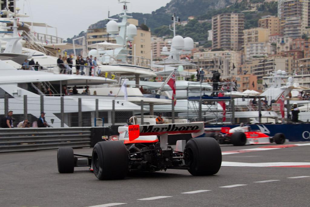 McLaren M26 Cosworth - Chassis: M26-3 - Driver: Zak Brown  - 2014 Monaco Historic Grand Prix