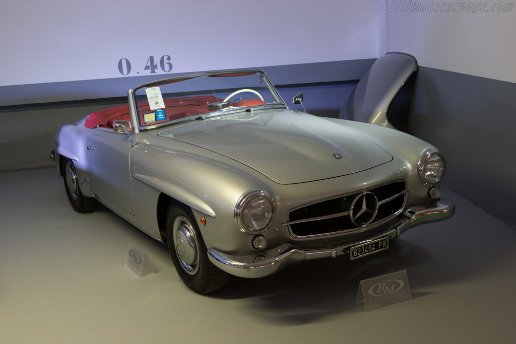 mercedes benz 190 sl chassis 2014 monaco historic grand prix. Black Bedroom Furniture Sets. Home Design Ideas