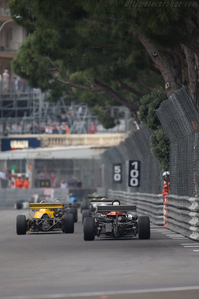 Osella F3A Toyota - Chassis: F3A-01 - Driver: Stefano Rosina  - 2014 Monaco Historic Grand Prix
