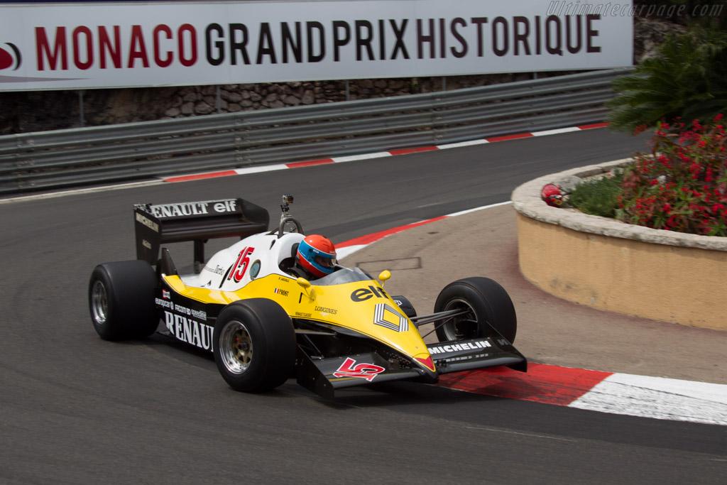 Renault RE40 - Chassis: RE40-04 - Driver: Jean-Pierre Jabouille  - 2014 Monaco Historic Grand Prix