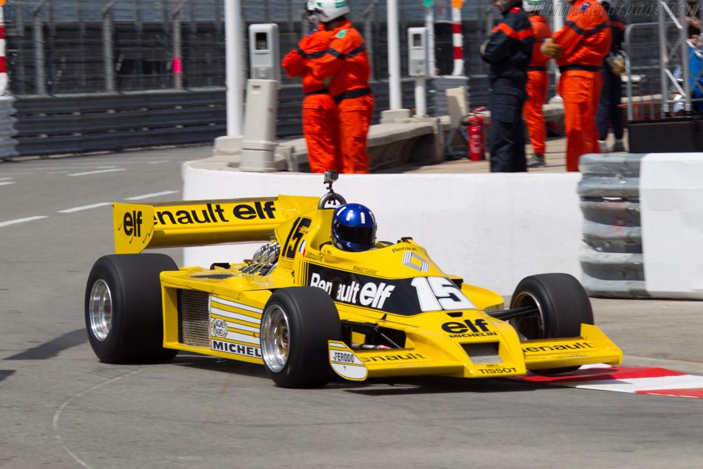 Renault RS 01 - Chassis: RS 01/04 - Driver: Damon Hill  - 2014 Monaco Historic Grand Prix