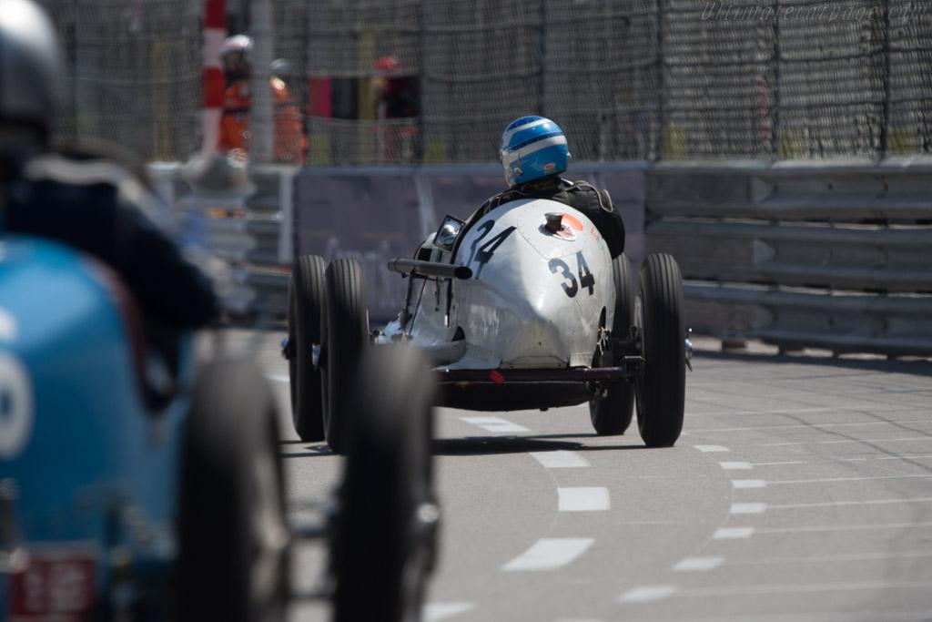Riley Dobbs Special  - Driver: Thierry Chanoine  - 2014 Monaco Historic Grand Prix