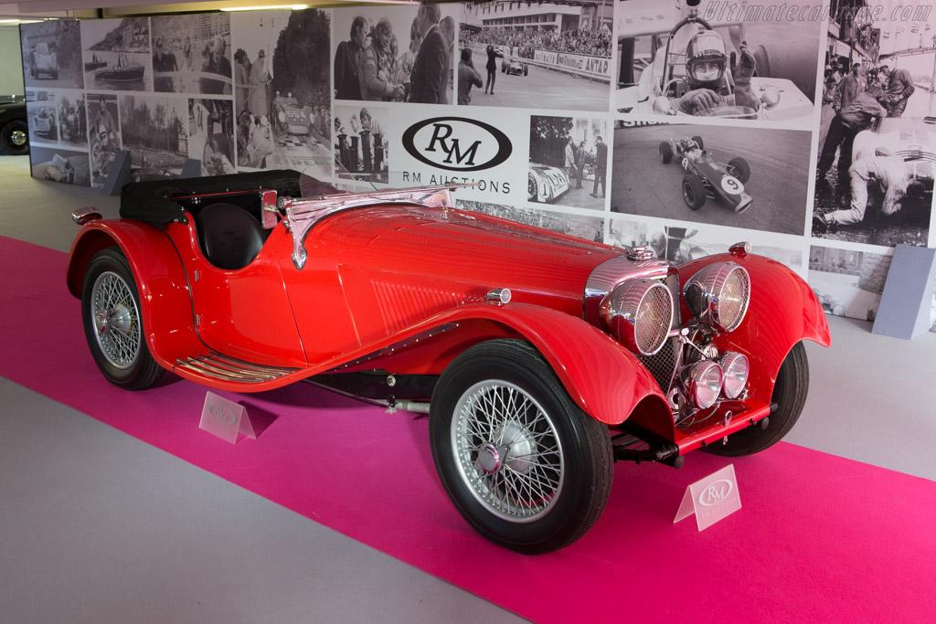 SS Jaguar 2.5 Litre - Chassis: 18031   - 2014 Monaco Historic Grand Prix