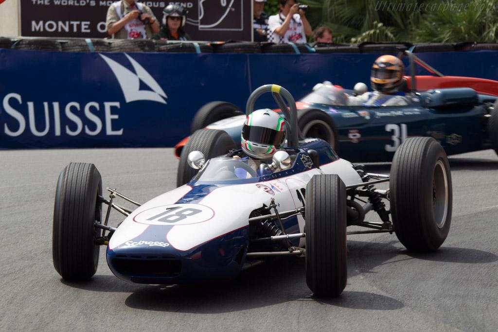 Scirocco BRM - Chassis: SP-1-63 - Driver: Tommaso Gelmini  - 2014 Monaco Historic Grand Prix