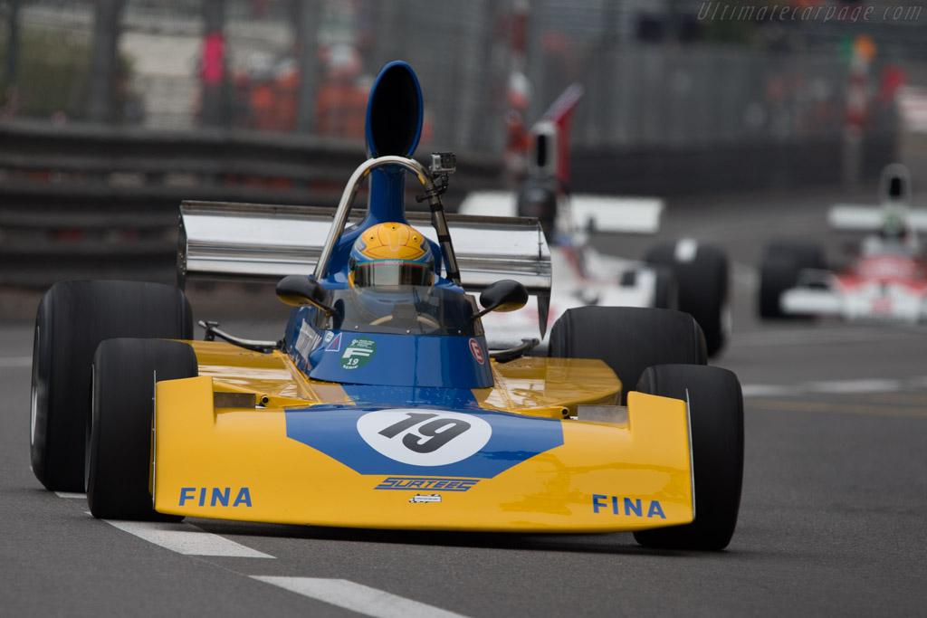 Surtees TS16 Cosworth - Chassis: TS16-04 - Driver: Mark White  - 2014 Monaco Historic Grand Prix