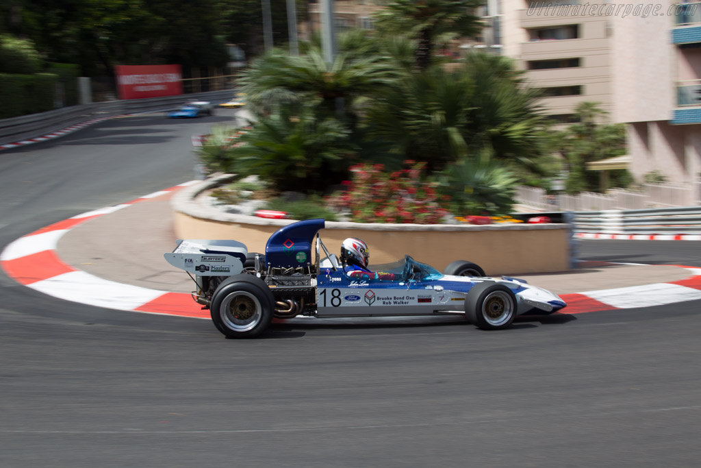 Surtees TS9 Cosworth - Chassis: 003 - Driver: Michael Lyons  - 2014 Monaco Historic Grand Prix