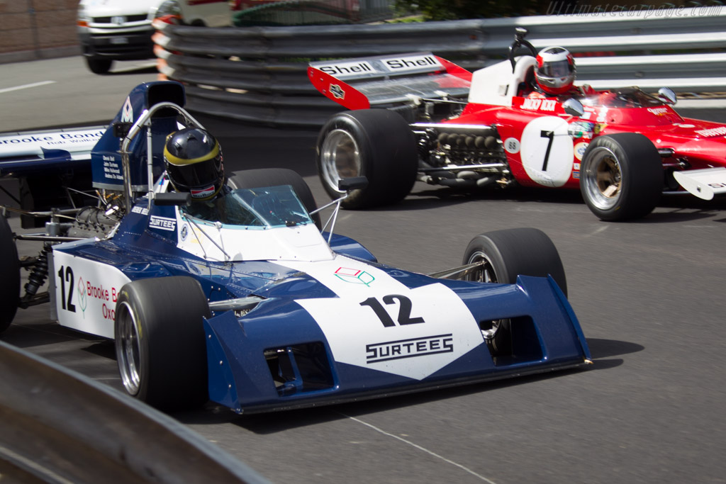 Surtees TS9B Cosworth - Chassis: 004 - Driver: Max Smith-Hilliard  - 2014 Monaco Historic Grand Prix