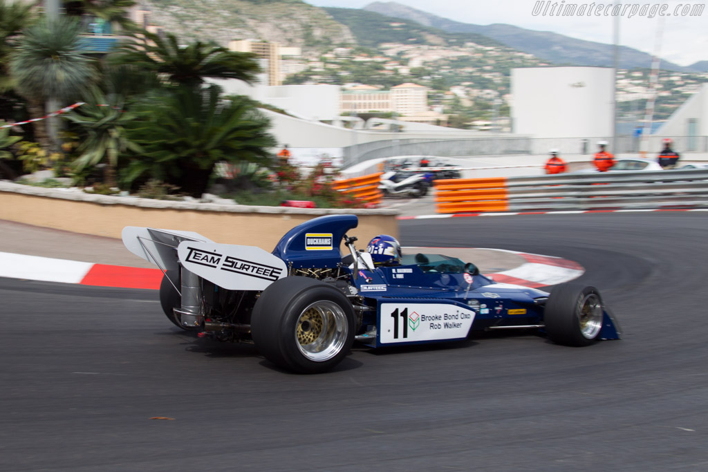 Surtees TS9B Cosworth - Chassis: 005 - Driver: Laurent Fort  - 2014 Monaco Historic Grand Prix
