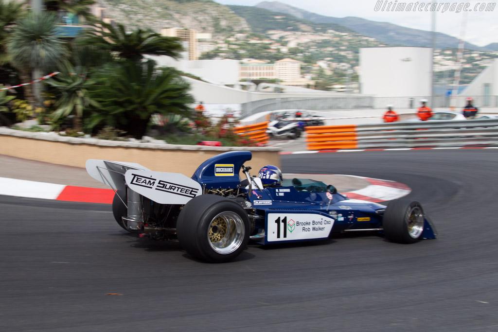 Surtees TS9B Cosworth - Chassis: 005 - Driver: Laurent Fort - 2014 Monaco Historic Grand Prix